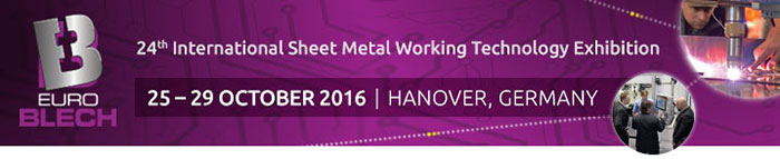EuroBLECH 2016 -  International Sheet Metal Working Technology Exhibition