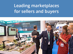 Targeted trade exhibitions for industry experts