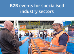 B2B events for specialised industry sectors