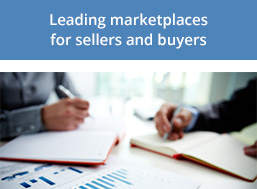 Leading marketplaces for sellers and buyers